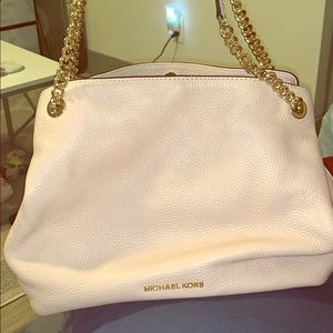 Michael Kors light pink shoulder bag